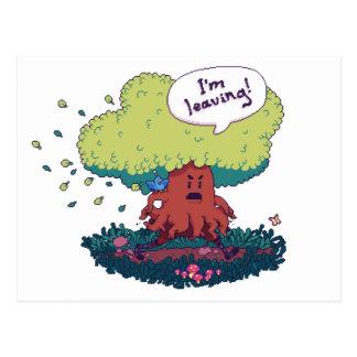 Make Like a Tree Postcard