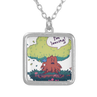 Make Like a Tree Silver Plated Necklace