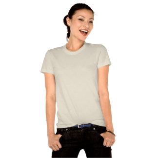 Make Love AND War Heart Logo on Ladies Organic T Tshirts