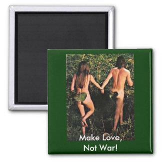 Make Love, Not War! Magnet