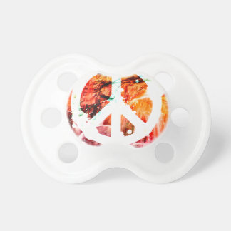 Make Love Not War Peace Baby Pacifiers