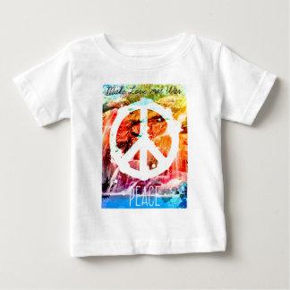 Make Love Not War Peace Baby T-Shirt
