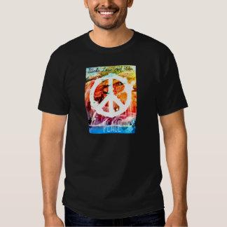Make Love Not War Peace Tee Shirts