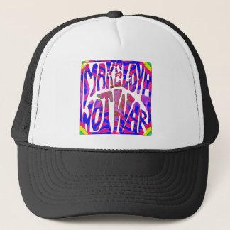 Make Love Not War Trucker Hat