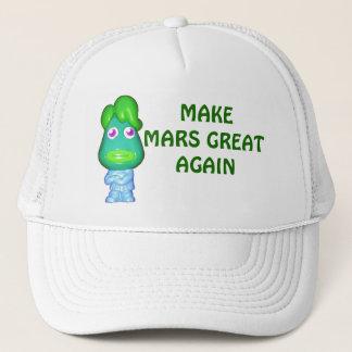 Make Mars Great Again Alien Trump Trucker Hat