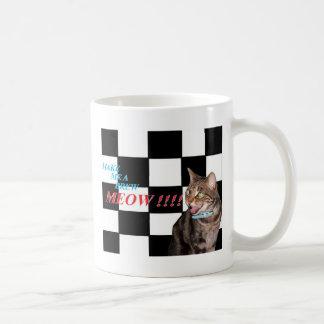 make me a brew meow mugs