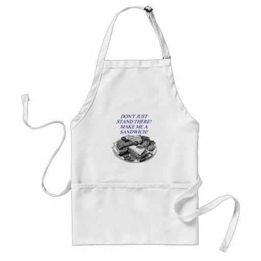 make me a sandwich! apron