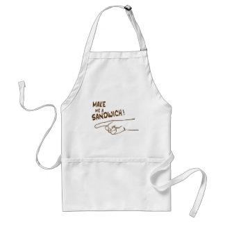 Make Me A Sandwich Adult Apron