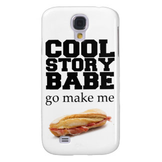 Make Me a Sandwich Samsung Galaxy S4 Covers