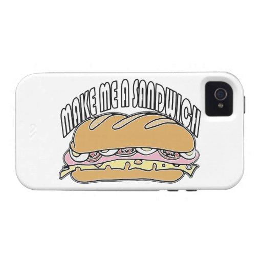 Make Me A Sandwich Case-Mate iPhone 4 Cases