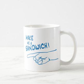 Make Me a Sandwich! Classic White Coffee Mug