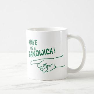 Make Me a Sandwich! Coffee Mug