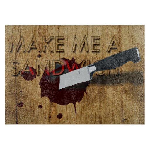 Make me a Sandwich cutting board