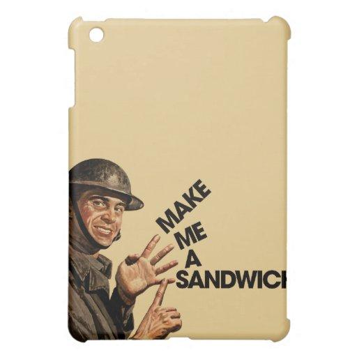 Make me a sandwich iPad mini covers
