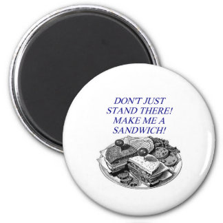 make me a sandwich fridge magnets