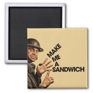 Make me a sandwich magnet