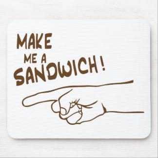 Make Me A Sandwich Mouse Pad