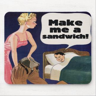 Make me a sandwich mousepad