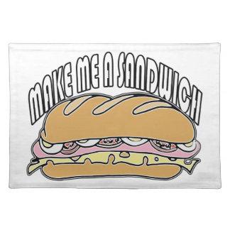 Make Me A Sandwich Placemats