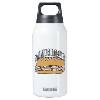 Make Me A Sandwich 10 Oz Insulated SIGG Thermos Water Bottle