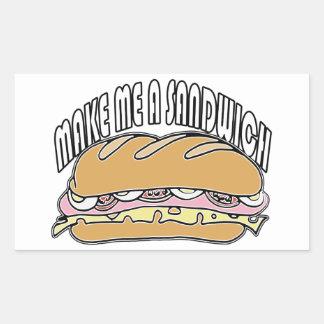 Make Me A Sandwich Sticker