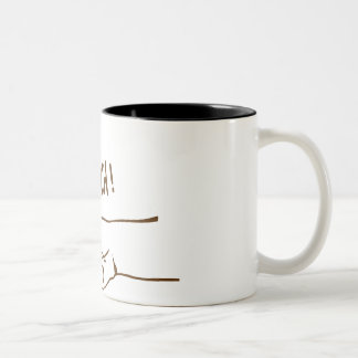 Make Me A Sandwich Two-Tone Coffee Mug