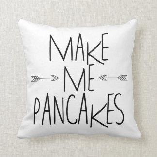 Make Me Pancakes - Arrow Quote Throw Pillow