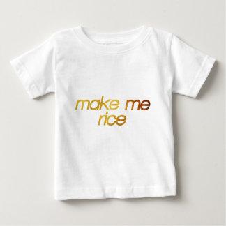 Make me rice! I'm hungry! Trendy foodie Baby T-Shirt
