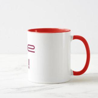 """""""make me !!""""  Ringer Mug"""