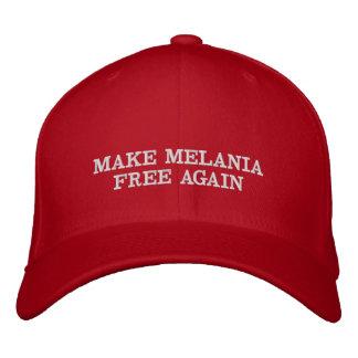 Make Melania Free Again Embroidered Hat