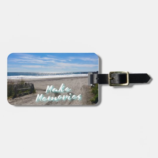 Make Memories Luggage Tag