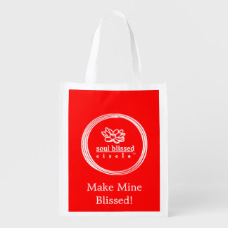 Make Mine Blissed! Reusable Bag