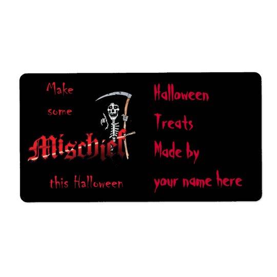 Make Mischief Halloween Skeleton