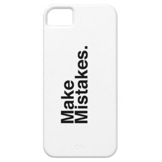 Make Mistakes. iPhone 5 Case