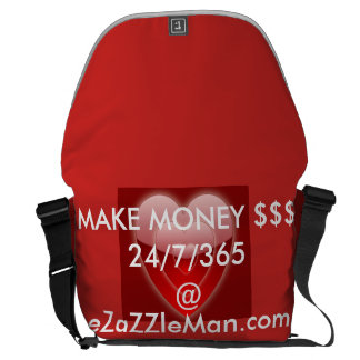 MAKE MONEY $$$ 24/7/365 @ eZaZZleMan.com Commuter Bag