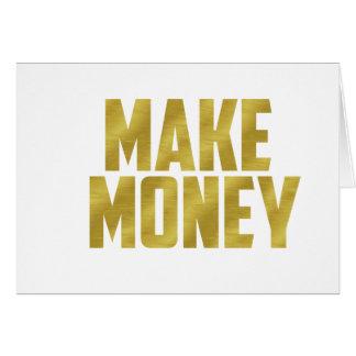 Make Money Card