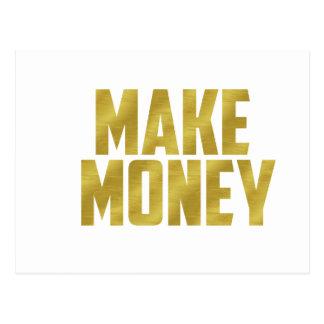 Make Money Postcard