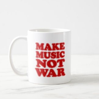 Make Music Not War Cool Mug