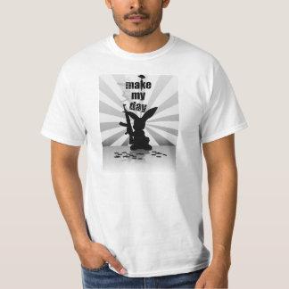 Make my day bunny rabbit T-Shirt