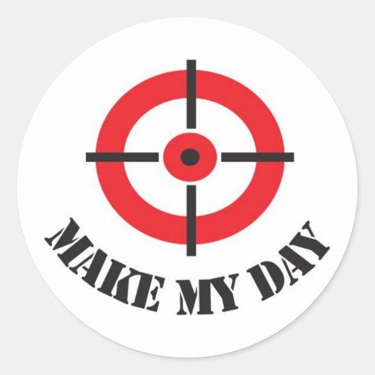 'Make My Day' Sticker