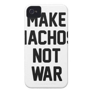 Make Nachos Not War iPhone 4 Covers