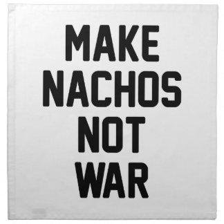 Make Nachos Not War Napkin