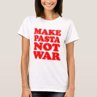 Make Pasta Not War T-Shirt