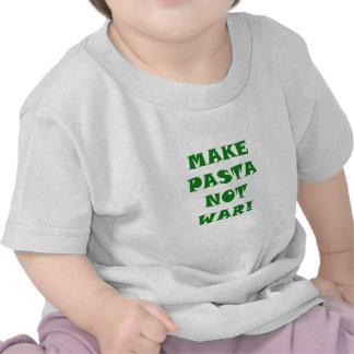 Make Pasta Not War Shirt