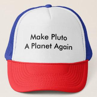 Make Pluto A Planet Again Trucker Hat