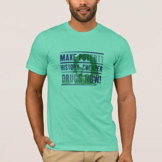 Make Poverty History T shirt