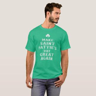 Make Saint Pattie's Day Great Again T-Shirt