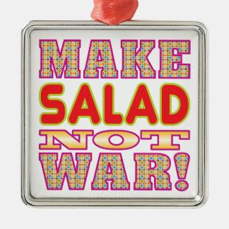 Make Salad v2 Metal Ornament