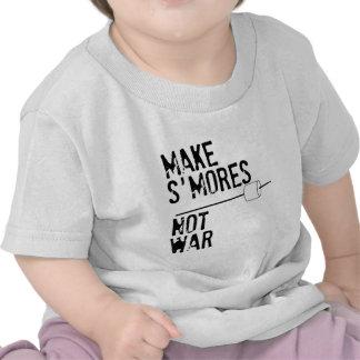 Make S'mores, Not War T-shirts