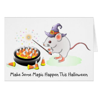 Make Some Magic Happen This Halloween Card
